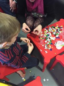 Jireh Bebington Messy Sunday craft